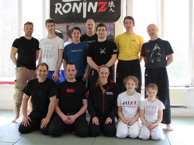 IKAEF Fundamentals mit Lahon Guro Andy Güttner und Katalungan Guro Tobias Ochs 01.-02. April 2017 in RoninZ Kampfkunstschule