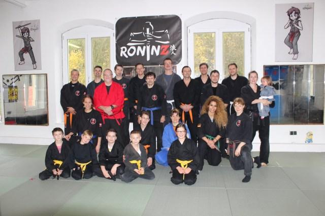 4. Ju-Jutsu-Do Lehrgang mit Hans-Juergen Eul am 17.-18. Oktober 2015 in RoninZ Kampfkunstschule in Weingarten
