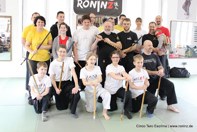 Cinco Tero Escrima mit Charles Goossens am 06.-07.02.2016 in RoninZ Kampfkunstschule