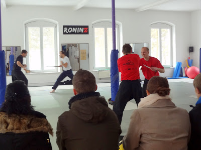 Tag der offenen Tuer am 23. Februar 2013 in RoninZ Kampfkunstschule/Weingarten