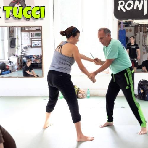 Rick Tucci in Juli 2019 in RoninZ Kampfknstschule