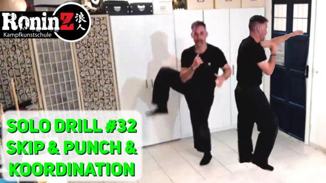 Solo Drill 32 Skip & Punch & Koordination