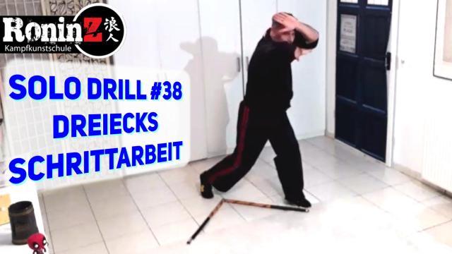 Solo Drill 38 Dreiecks Schrittarbeit