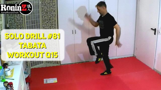 Solo Drill 81 Tabata Workout Q15
