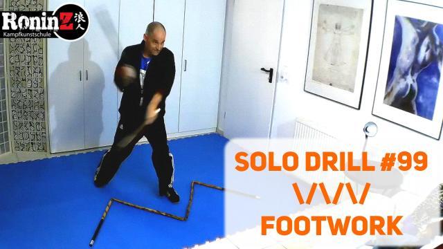 Solo Drill 99 Footwork