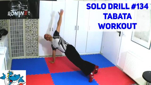Solo Drill 134 Tabata Workout