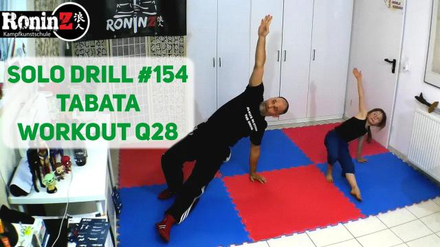 Solo Drill 154 Tabata Workout Q28