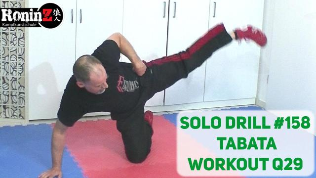 Solo Drill 158 Tabata Workout Q29