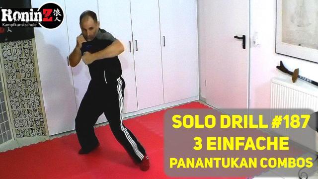 Solo Drill 187 3 einfache Panantukan Combos