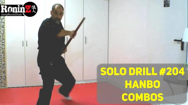 Solo Drill 204 Hanbo Combos
