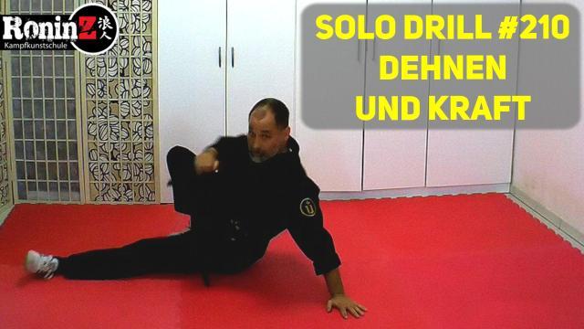 Solo Drill 210 Dehnen und Kraft