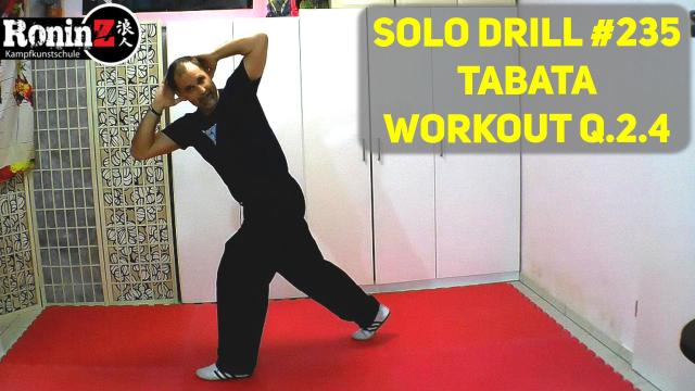 Solo Drill 235 Tabata Workout Q.2.4