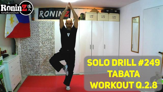Solo Drill 249 Tabata Workout Q.2.8