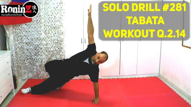 Solo Drill 281 Tabata Workout Q.2.14