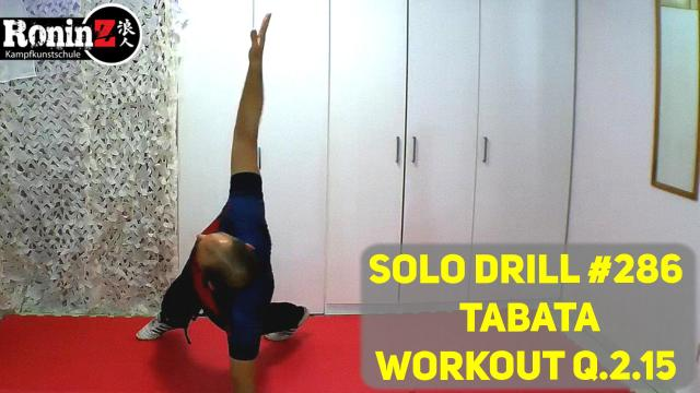 Solo Drill 286 Tabata Workout Q.2.15