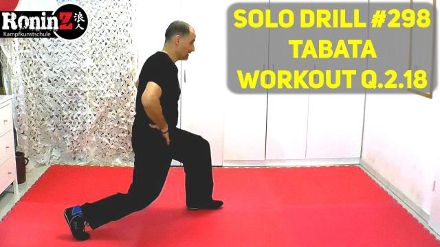 Solo Drill 298 Tabata Workout Q.2.18