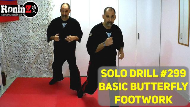 Solo Drill 299 Basic Butterfly Footwork