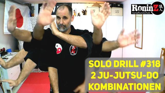 Solo Drill 318 2 Ju-Jutsu-Do Kombinationen