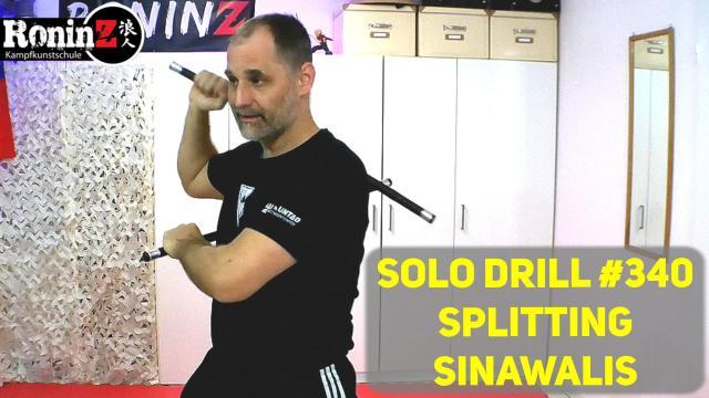 Solo Drill 340 Splitting Sinawalis