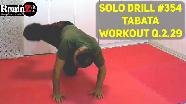 Solo Drill 354 Tabata Workout Q.2.29
