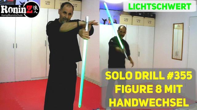 Solo Drill 355 Lichtschwert Figure 8 mit Handwechsel