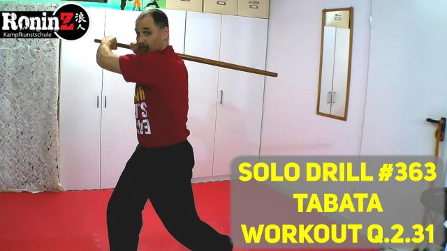 Solo Drill 363 Tabata Workout Q.2.31