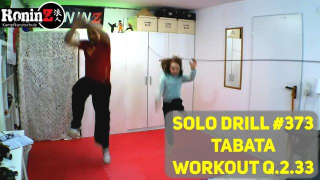 Solo Drill 373 Tabata Workout Q.2.33