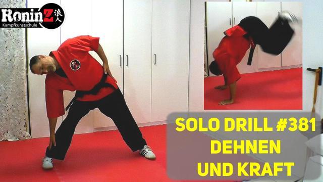 Solo Drill 381 Dehnen und Kraft