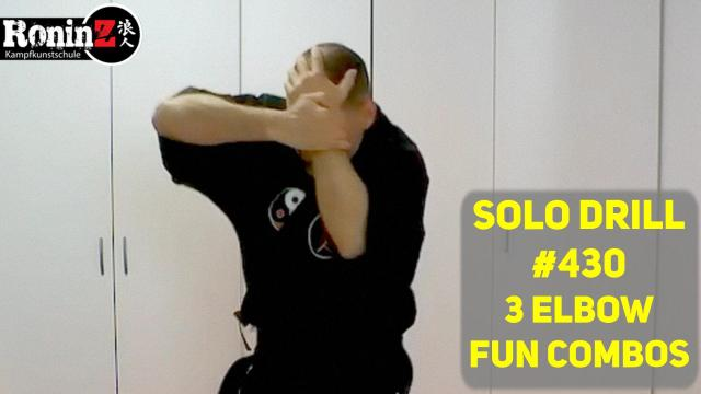 Solo Drill #430 3 Elbow Fun Combos