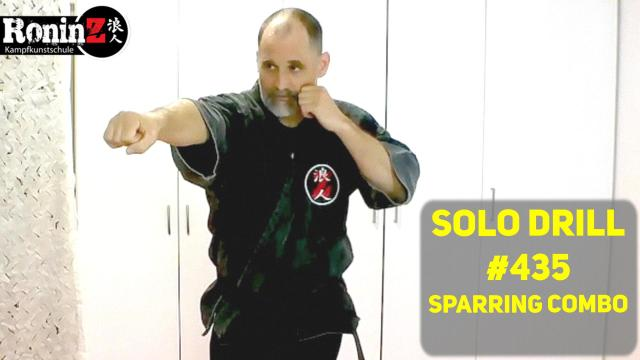 Solo Drill #435 Sparring Combo