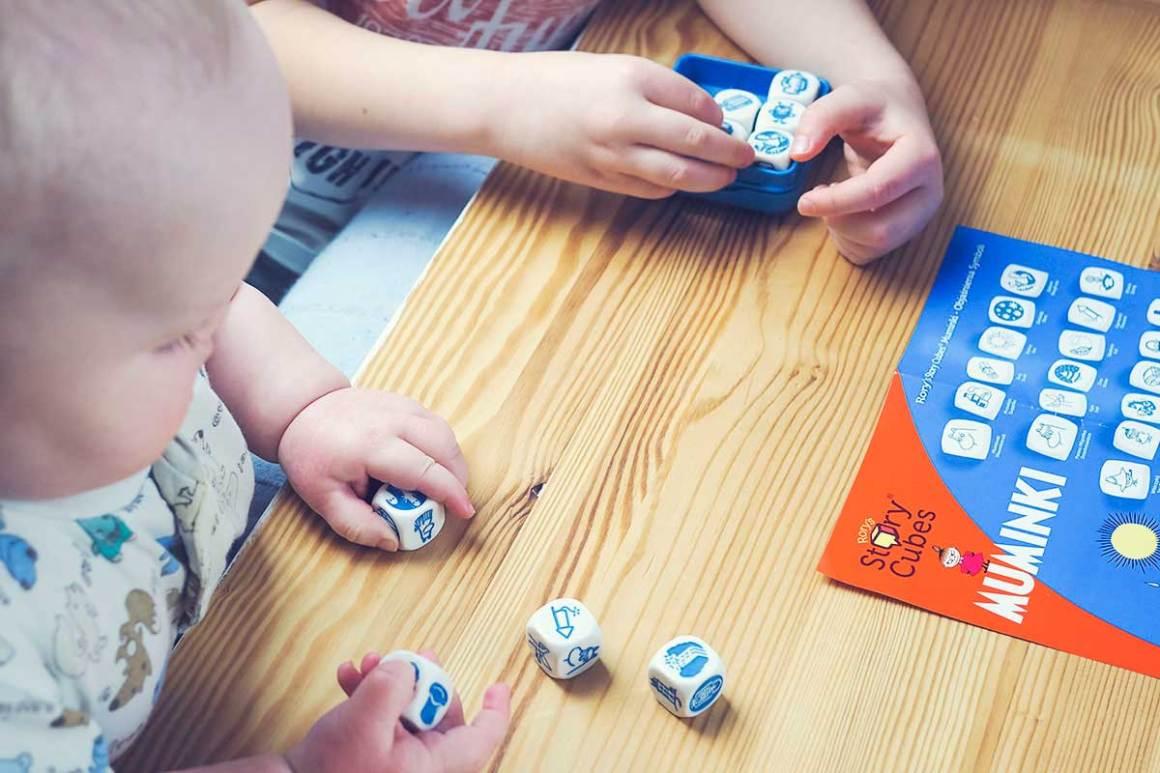 story cubes muminki