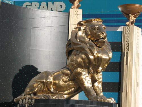 Resultado de imagen de lion mgm las vegas