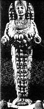 Артемида Эфесская из святилища Гестии. I в. до н.э.