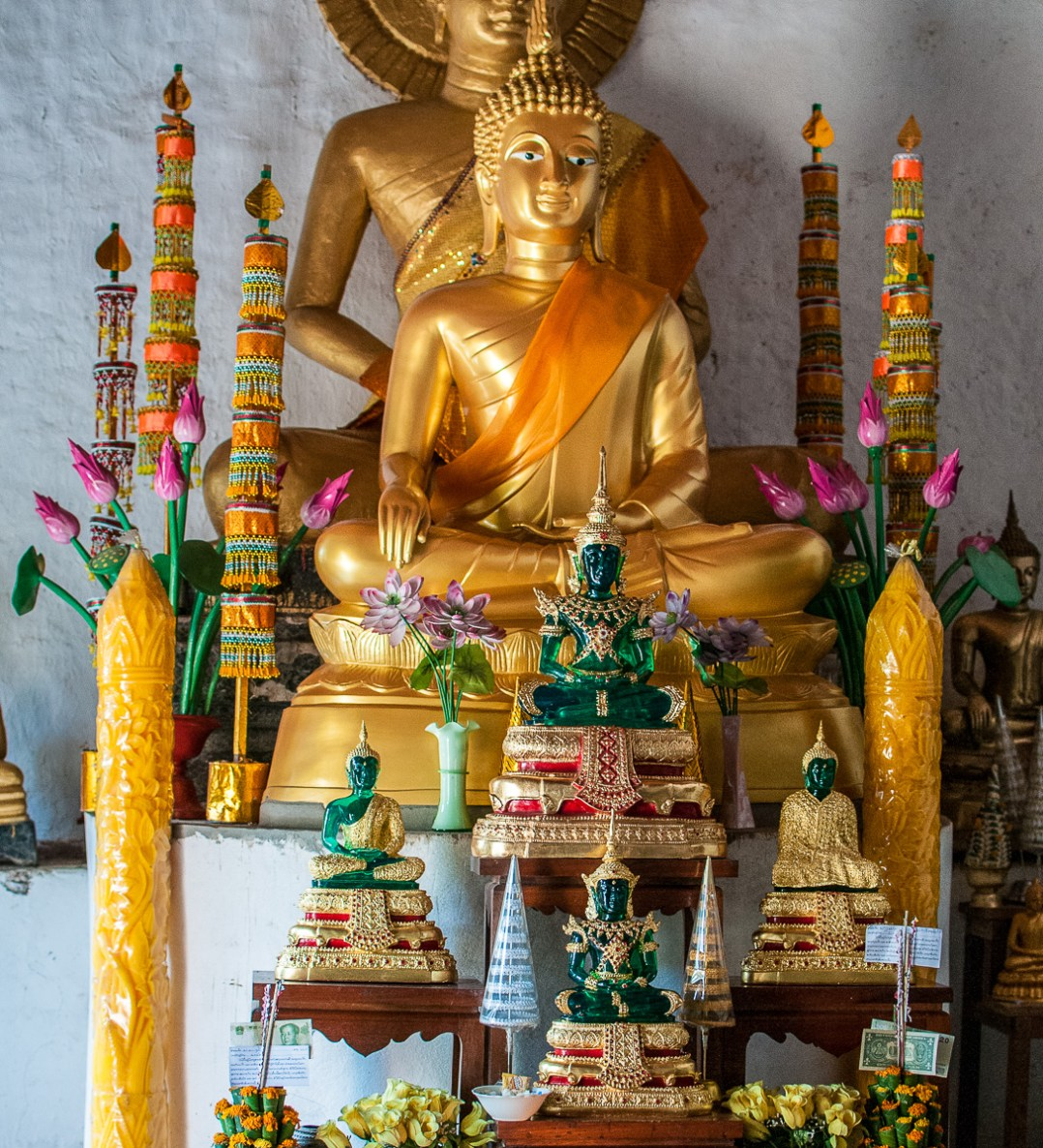 Buddhist Temple, near Laung Prabang, Laos