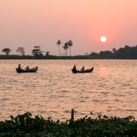 Postcard from the Backwaters - Kerala, India