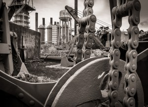 Art at the Steel Mill, Sloss Furnace- photo