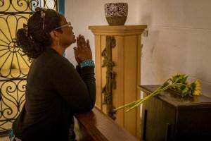 A Prayerful Moment, Havana, Cuba