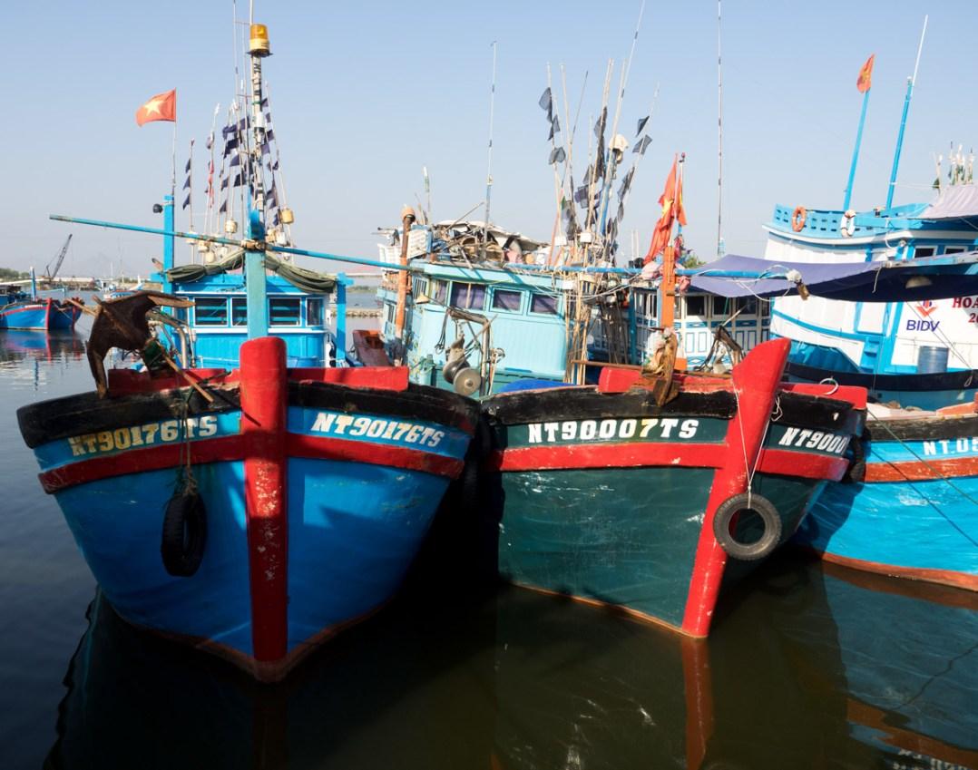 Fishing Boats Cam Ranh Bay, Vietnam