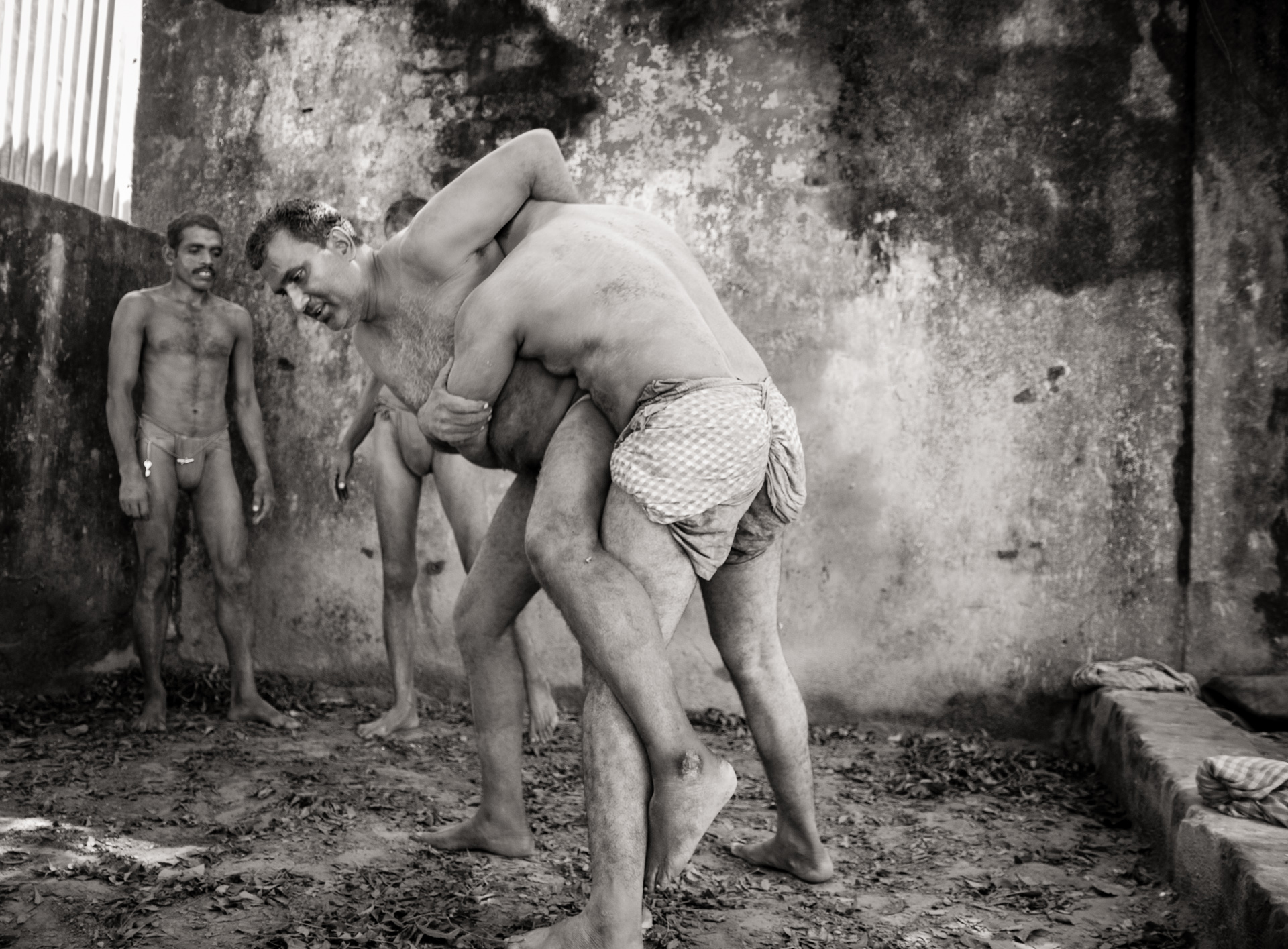 Traditional Kusti Wrestlers - Kolkata, India