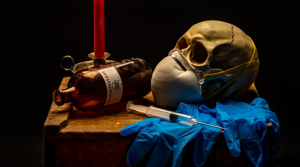 Still Life with Skull and Syringe-2