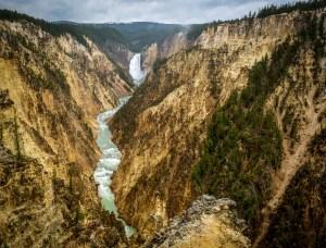 Yellowstone Falls, Yellowstone NP