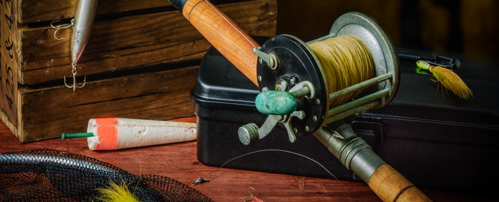 My Father's Fishing Rod - Still Life