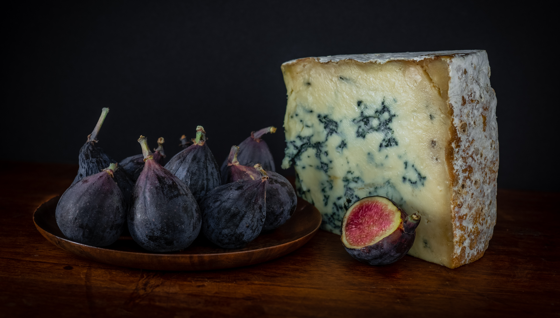 Still Life with Figs and Cheese - Still Life Gallery