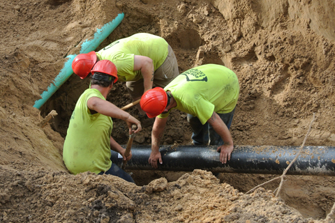Underground Piping: Water, Sanitary Sewer, Conduits