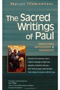 sacred writings of paul - ron miller
