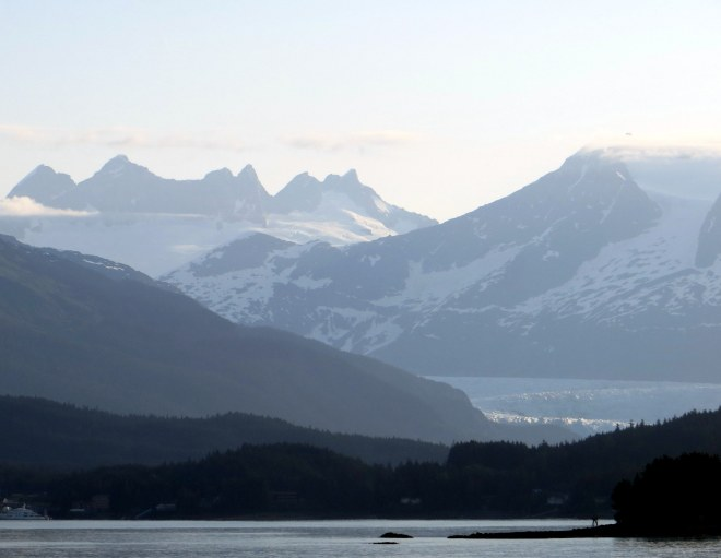 The mountains near Petersburg, Alaska