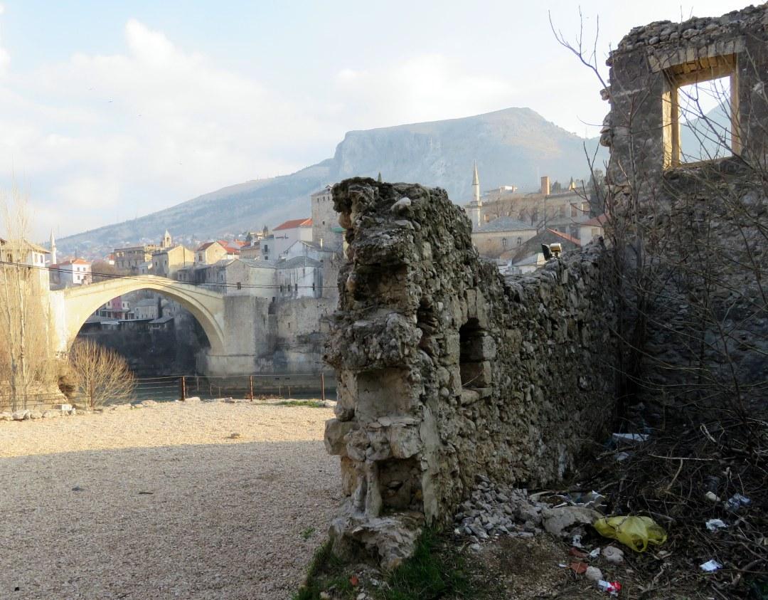 rubble-by-bridge