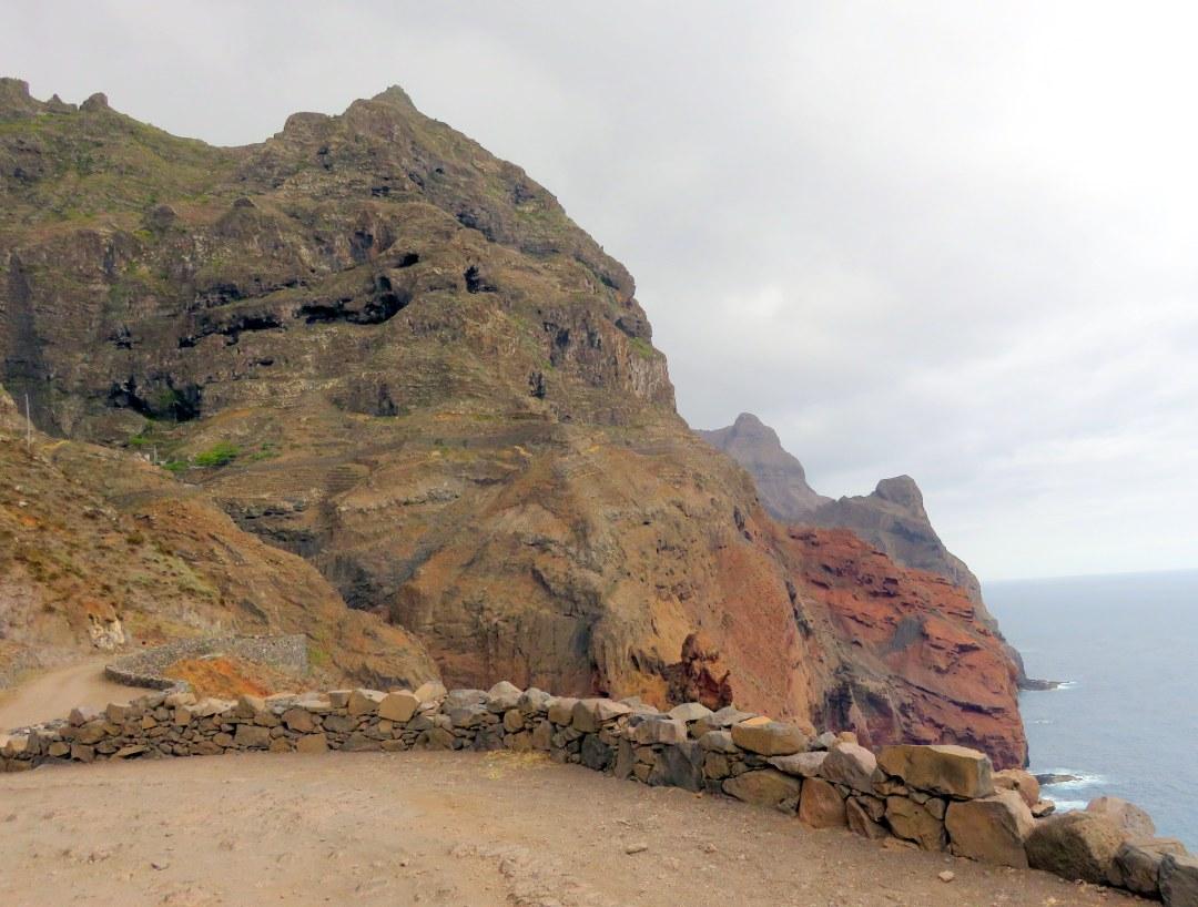 hiking cliffs