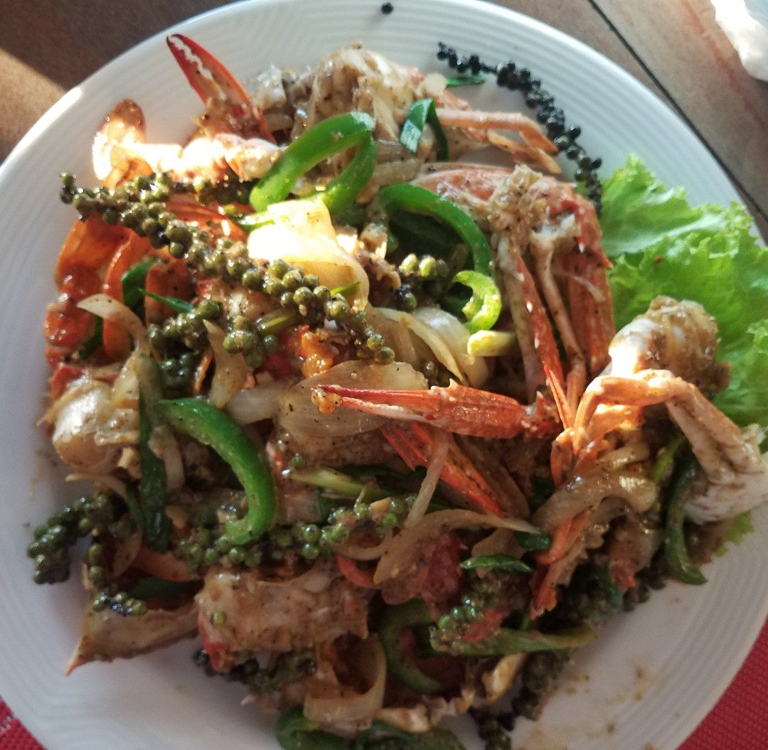 Kep crab with Kampot pepper