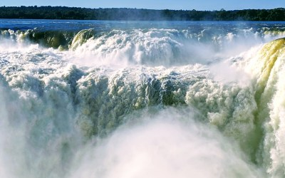 Argentina, From Solar Eclipse to Freaking Out in Iguazu Falls
